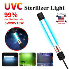 Aquarium Submersible UV Light Sterilizer Pond Fish Tank Germicidal Clean Lamp
