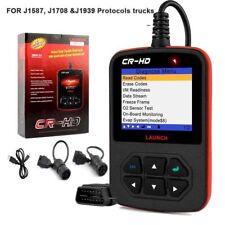 LAUNCH Creader CR-HD Car Truck Diagnostic Tool Truck Scanner 24V OBD Code Reader