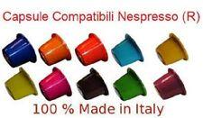 OFFERTA ! 200 CAPSULE CIALDE COMPATIBILI NESPRESSO AROMI A SCELTA 0,10cent.