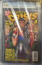 "Identity Crisis #1 CGC 9.6 (08/04) ""Death"" of Sue Dibny!! ICONIC COVER"