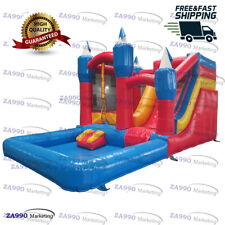 20x13x10ft Outdoor Inflatable Castle Bouncy House Water Slide & Pool Combo Kids