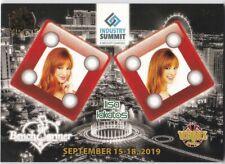Benchwarmers Vegas Baby 2020 Lisa Lakatos Snake Eyes Gold 3/5