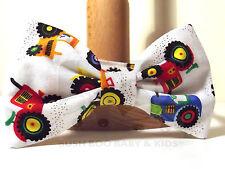 Bebé Niño Niño Paje Boda Dickie Bow Tie-tractores agrícolas