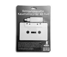 Reinigungskassette Kassettenrecorder mit Fluid