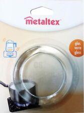 METALTEX HOME KITCHEN SMALL LARGE ANTI SLIP FEET GLASS CHOPPING BOARD