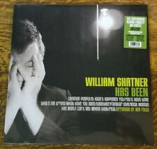william shatner has been limited edition splatter LP vinyl ben folds