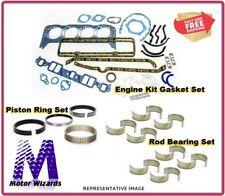 ENGINE REBUILD OVERHAUL KIT GM Chevy 3.7L DOHC 5 Cyl Rings+Rod Brgs+Gkts