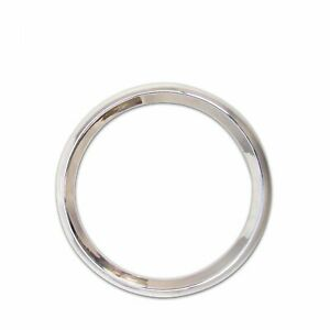 Chrome Modern Single 2 inch Trim Ring for Gauges