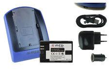 Baterìa+Cargador (USB) LP-E6 para Canon EOS 5D Mark II, 5D Mark III, 6D