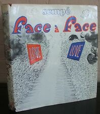 face a face. Sempe, 1972 first edition in DJ, Paris