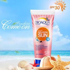 Rich Watery Gel Sunscreen SPF 30 PA+++ Face Body Sun Screen Cream Facial Cream