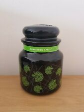 Yankee Candle Forbidden Apple Medium Jar Black Glass