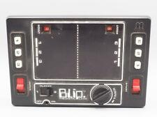 Vintage Tomy Blip Handheld game 1 or 2 Player 1977 Wind-up Digital LED