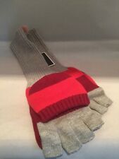 Juicy Couture Pop Top Mittens Winter Gloves Retails $58.00 Grey Multicolored