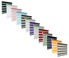 Day and Night Zebra/Vision Window Roller Blinds 13 Colours, 19 Sizes, 150cm Drop