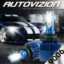 AUTOVIZION LED HID Headlight kit 9006 White for 1990-1994 Audi V8 Quattro