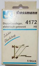 VIESSMANN 4172  H0 Doppelausleger, 5 Stück