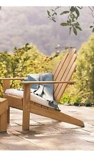 A GRADE TEAK WOOD ADIRONDACK CHAIR PATIO GARDEN RELAXING OUTDOOR INDOOR POOL SET