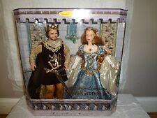 BARBIE  & KEN AS CAMELOT'S KING ARTHUR & QUEEN GUINEVERE GIFTSET DOLL NRFB