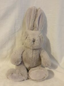 "Waitrose Easter grey Bunny Rabbit Soft Toy Comforter Plush 13"" tall"