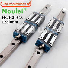 HGH20CA linear guide block  with HGR20 rails1260mm for z axis CNC parts