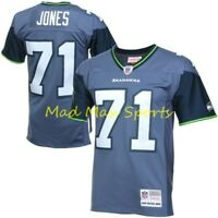 WALTER JONES Seattle SEAHAWKS MITCHELL AND NESS Throwback LEGACY Jersey S-XXL