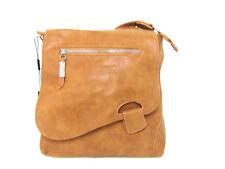 Bag Street Damen Handtasche Umhängetasche Cognac (atlanta 3421)