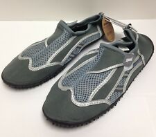 Men's Aqua Water Shoes, Size 13, Gray, Just Speed S6014 (Length = 31.5 cm)