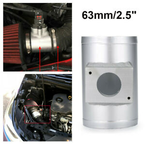 Air Flow Sensor Mount Air Intake Adapter Tube 63mm Fit for Mitsubishi AI