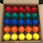 Pack Of 25 C9 Multi Color Ceramic Replacement Bulbs Christmas Lights Holiday