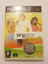 Singstar POP ps2 pal España y completo