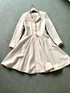 Claire Mischevani couture blush belle wedding/dress coat, unworn, 8/10