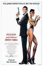 A VIEW TO A KILL (1985) ORIGINAL ADVANCE B MOVIE POSTER  -  ROLLED