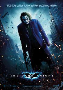 "Batman - The Dark Knight - Movie Poster (The Joker - Reg.) (Size: 27"" X 39"")"