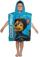 Paw Patrol Spy Boys Swimming Summer Beach Bath Hooded Poncho Towel