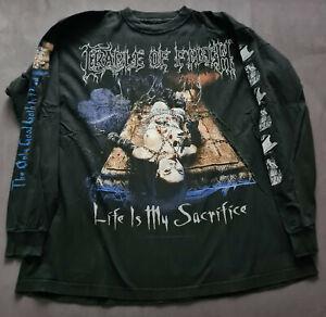 Cradle of Filth LS RAR Vintage Dimmu Borgir Marduk Mayhem Darkthrone