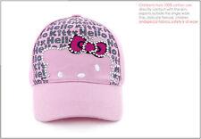 Girl's HelloKitty  Summer Hat Pink (4-10 yrs)