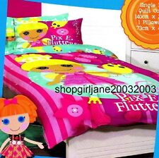 Lalaloopsy - Pix E.Flutters - Single/US Twin Bed Quilt Doona Duvet Cover Set