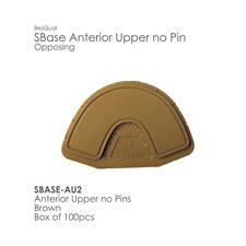 Model Base SBase Anterior Upper no Pin 100pcs  Upper Opposing - No Pins/Blank