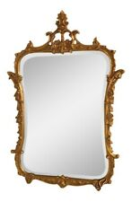 39223: Friedman Brothers #5505 Fancy Gold Framed Decorator Wall Mirror ~ New