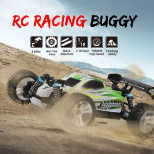 WLtoys A959-B 2.4G 1/18 4WD 70KM/h Elektro-RTR-Offroad-Buggy RC Auto Racing Car