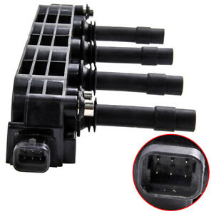 Ignition Coil Pack for Holden Barina XC Combo Z14XE 04/2001 - 01/2006 1.4L 4 CYL