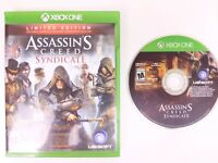 Assassin's Creed: Syndicate Xbox One Video Game CD Case Ubisoft 2015