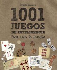 1001 juegos de inteligencia para toda la familia (Spanish Edition) Hardcover