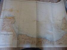 carte hydrographique du cap lévy au cap d'antifer , baie de seine (car01)