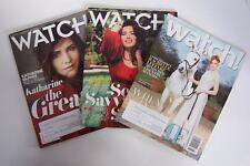 Watch! CBS TV Magazine 3 Issue Lot