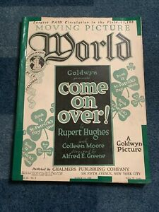 Moving Picture World magazine March 11, 1922