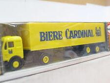 HERPA MB valise semi-remorque bières cardinal OVP (y8117)