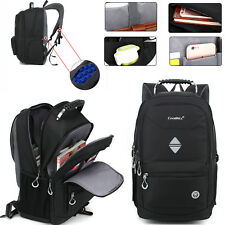 18 inch Unisex Laptop Backpack Rucksack Shockproof Daypack for Macbook Notebook