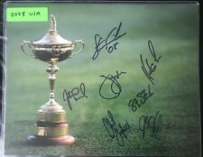 2008 Team USA Ryder Cup PGA Golf 11x14 Photograph 7 Signatures